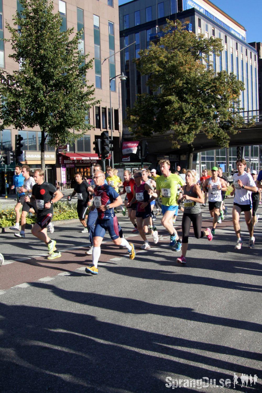 Bild från Stockholm Halvmarathon 2012