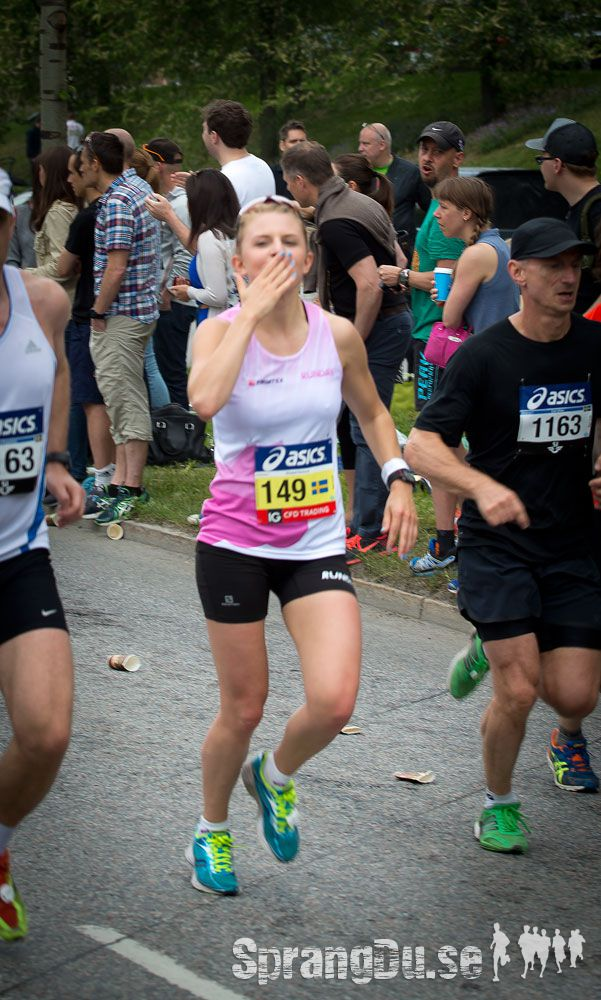 Bild från Stockholm Marathon 2013