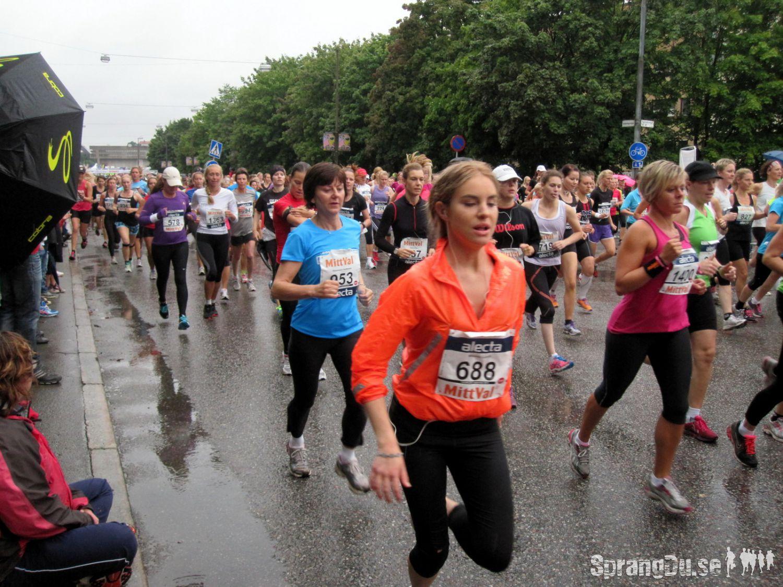 Bild från Tjejmilen 2012