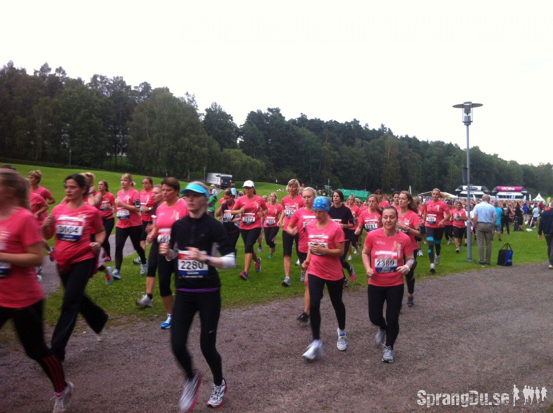 Bild från I FORM-loppet Stockholm 2012