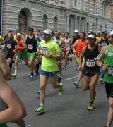 Bild på löpare med startnummer 448 i Stockholm Marathon 2013
